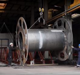 Reklaminis klipas metalo konstrukcijų įmonei